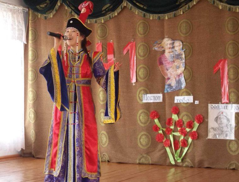 Исполнение песни на родном языке Болошкинова Марина