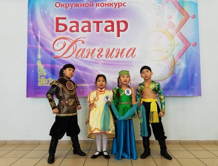 Окружной конкурс Баатар Дангина 2019